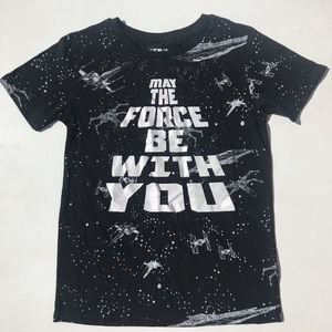 """May the force be with you"" Star Wars Shirt"
